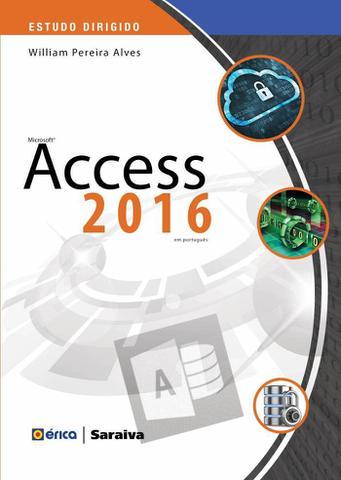 Imagem de Livro - Estudo dirigido: Microsoft access 2016 em português