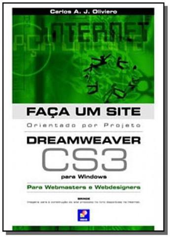 Imagem de Livro - Faça um site dreamweaver CS3: Orientado por projeto para Windows