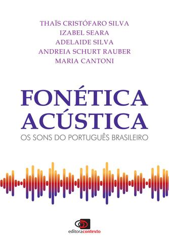 Imagem de Livro - Fonética acústica