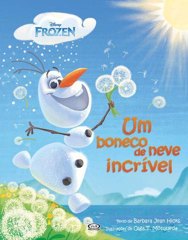 Imagem de Livro - Frozen: um boneco de neve incrível