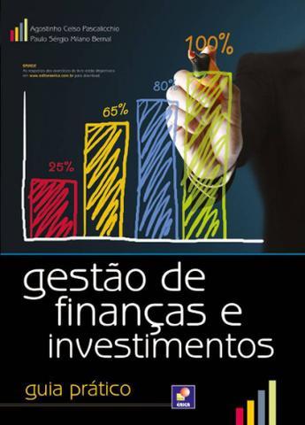 Imagem de Livro - Gestão de finanças e investimentos