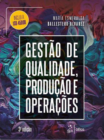 Imagem de Livro - Gestão de Qualidade, Produção e Operações