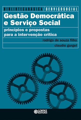 Imagem de Livro - Gestão democrática e serviço social