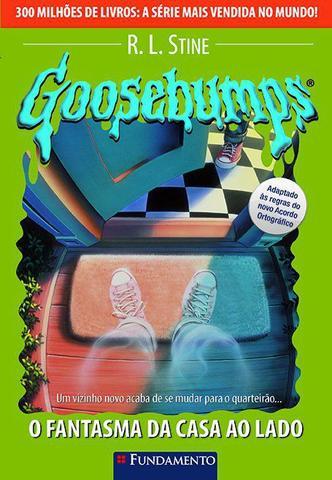 Imagem de Livro - Goosebumps 25 - O Fantasma Da Casa Ao Lado