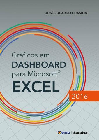 Imagem de Livro - Gráficos em Dashboard para Microsoft Excel 2016