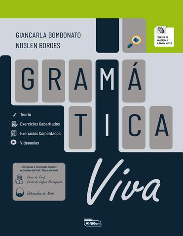 Imagem de Livro - GRAMÁTICA VIVA