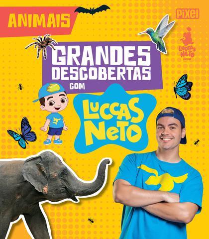 Imagem de Livro - Grandes Descobertas com Luccas Neto - Animais