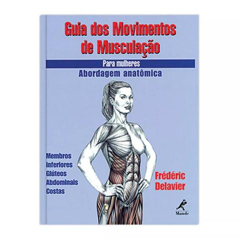 Imagem de Livro - Guia dos movimentos de musculação para mulheres