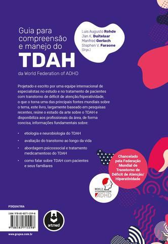 Imagem de Livro - Guia para Compreensão e Manejo do TDAH da World Federation of ADHD