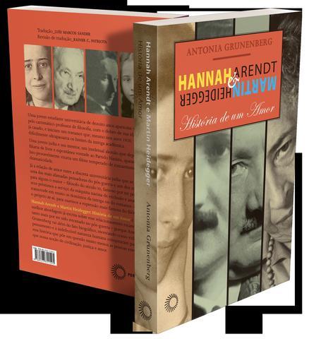 Imagem de Livro - Hannah Arendt e Martin Heidegger
