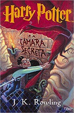 Imagem de Livro - Harry potter e a câmara secreta