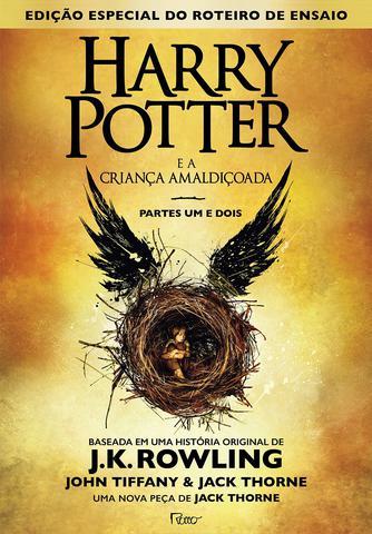 Imagem de Livro - Harry Potter e a criança amaldiçoada - Parte um e dois