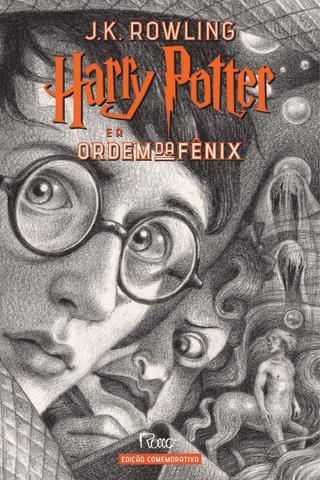 Imagem de Livro - HARRY POTTER E A ORDEM DA FÊNIX (CAPA DURA) – Edição Comemorativa dos 20 anos da Coleção Harry Potter