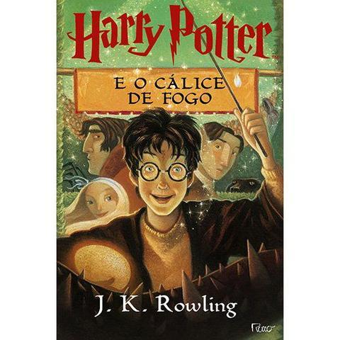 Imagem de Livro - Harry potter e o cálice de fogo