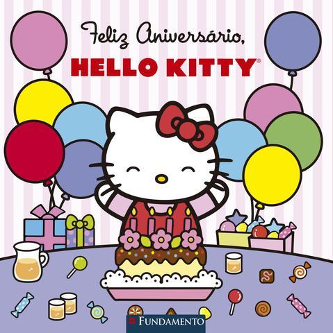 Imagem de Livro - Hello Kitty - Feliz Aniversário, Hello Kitty