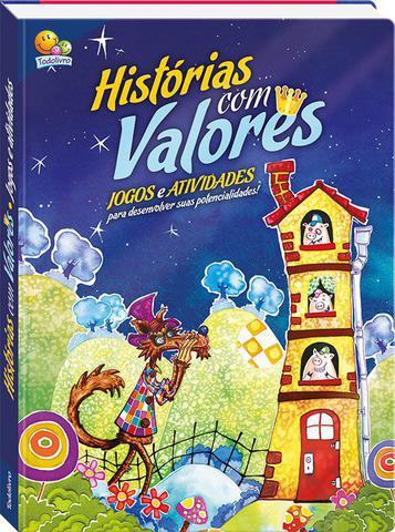 Imagem de Livro - Histórias com valores