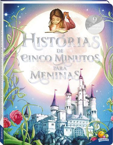 Imagem de Livro - Histórias de cinco minutos para meninas