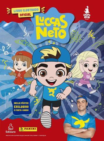 Imagem de Livro Ilustrado Oficial Luccas Neto - Capa Dura