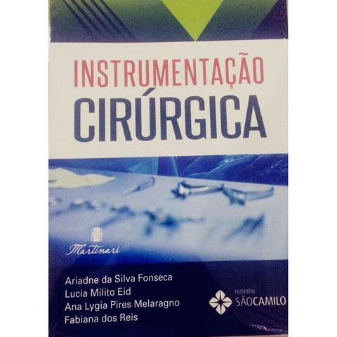 Imagem de Livro - Instrumentação Cirúrgica - Fonseca