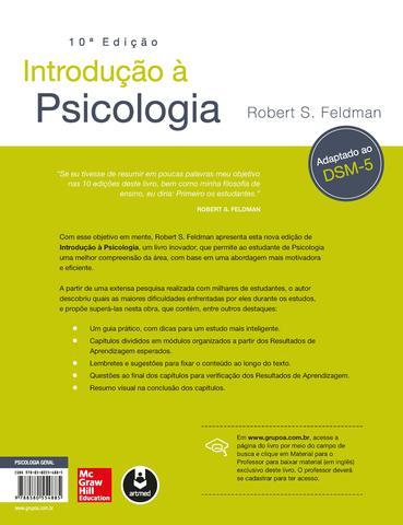 Imagem de Livro - Introdução à Psicologia