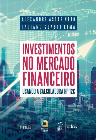 Imagem de Livro - Investimentos no Mercado Financeiro - Usando a Calculadora HP 12C