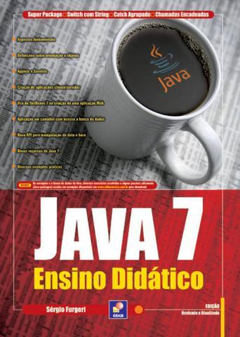 Imagem de Livro - Java 7 - Ensino didático