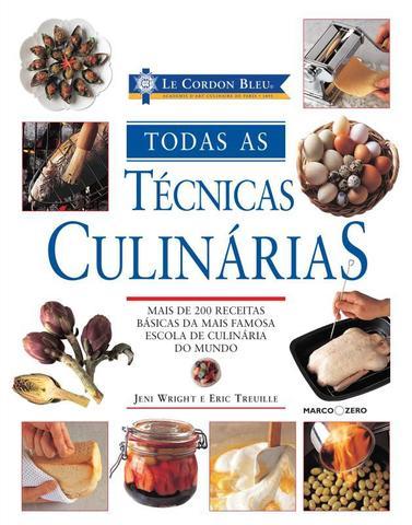 Imagem de Livro - Le Cordon Bleu : Todas as técnicas culinárias