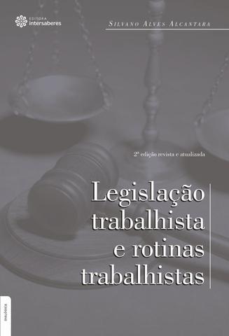 Imagem de Livro - Legislação trabalhista e rotinas trabalhistas