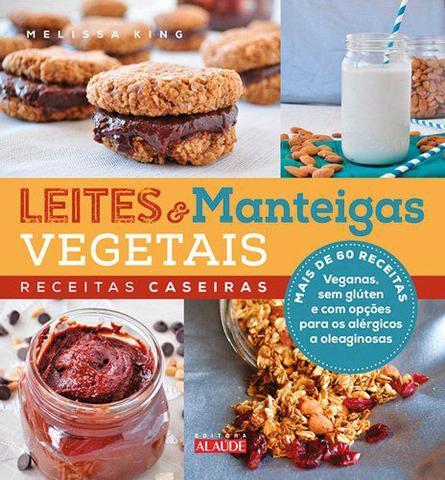 Imagem de Livro - Leites e manteigas vegetais