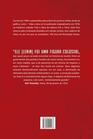 Imagem de Livro - Lenin: vida e obra