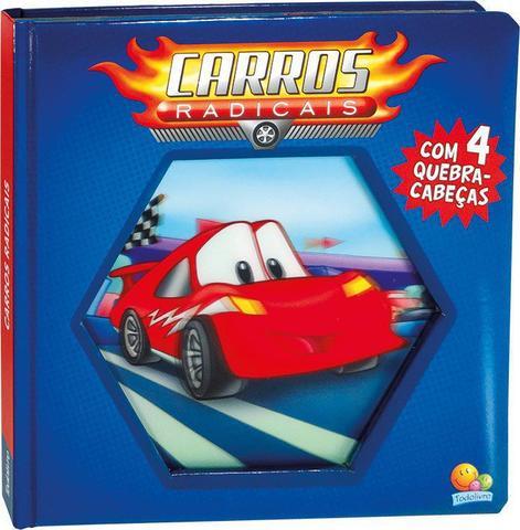 Imagem de Livro - Lenticular 3D: carros radicais
