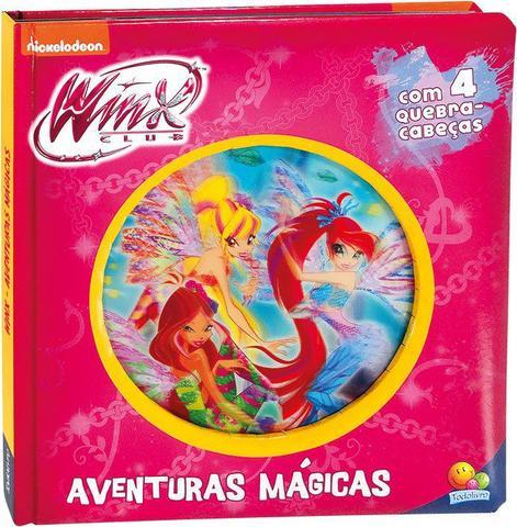 Imagem de Livro - Lenticular 3D licenciados: Winx Club - aventuras mágicas