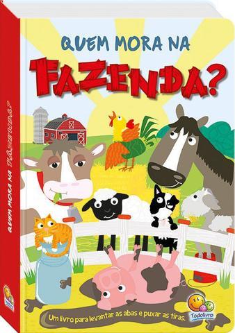 Imagem de Livro - Levante e puxe! Quem mora na fazenda?