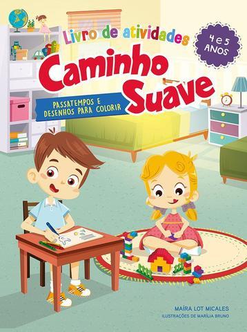 Imagem de Livro - Livro de Atividades Caminho Suave 4-5 anos