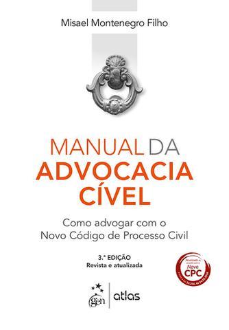 Imagem de Livro - Manual da Advocacia Cível