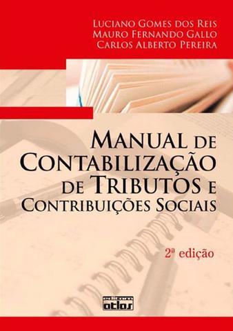 Imagem de Livro - Manual De Contabilização De Tributos E Contribuições Sociais