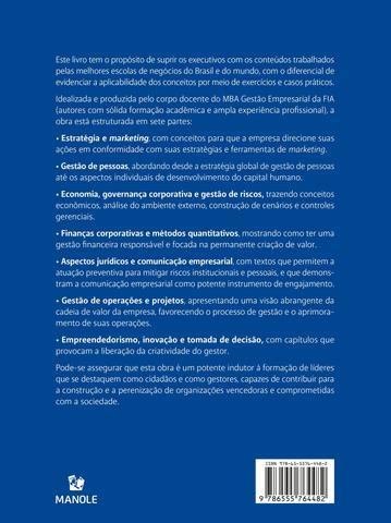 Imagem de Livro - Manual de gestão empresarial