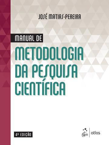 Imagem de Livro - Manual de Metodologia da Pesquisa Científica