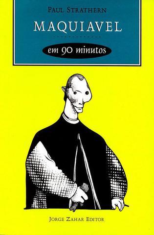 Imagem de Livro - Maquiavel em 90 minutos