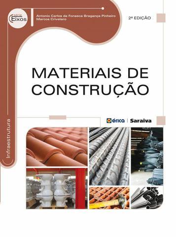 Imagem de Livro - Materiais de construção
