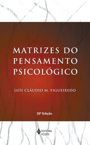 Imagem de Livro - Matrizes do pensamento psicológico