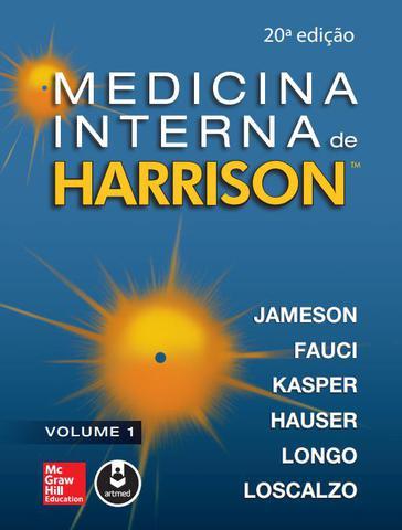 Imagem de Livro - Medicina Interna de Harrison - 2 Volumes