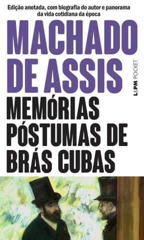 Imagem de Livro - Memórias póstumas de Brás Cubas