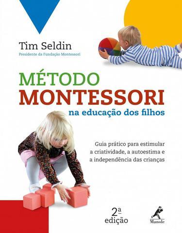 Imagem de Livro - Método Montessori na educação dos filhos