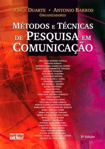 Imagem de Livro - Métodos e técnicas de pesquisa em comunicação