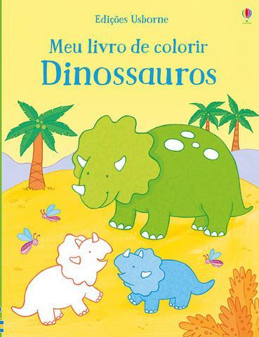 Imagem de Livro - Meu livro de colorir : Dinossauros