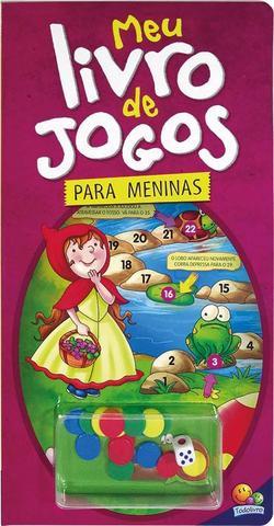 Imagem de Livro - Meu livro de jogos...meninas