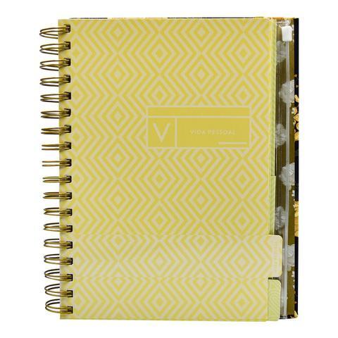 Imagem de Livro - Meu Plano Perfeito, Tecido, Espiral Duplo, Rosa (Nova Edição)