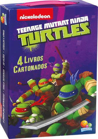 Imagem de Livro - Minha maletinha de licenciados: Ninja Turtle