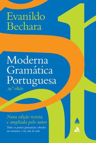 Imagem de Livro - Moderna Gramática Portuguesa - 39º edição